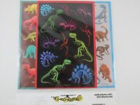 Dinosauer Stickers 10 Sheets with 131 Stickers Per Pack