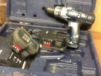 AEG 14.4v cordless hammer drill