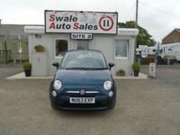 63 FIAT 500 1.2 POP 69 BHP - 51595 MILES - IDEAL FIRST CAR - £30 ROAD TAX