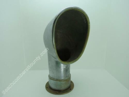 Antique 4 inch Chrome Over Bronze Ships Vent- XE2B137