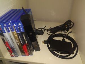 Playstation 4 camera, playstaion tv unit, and Razor headset