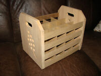 Wine Bottle (Carrier / Storage Box with Handles)