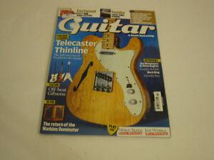 Guitar & Bass Nov 2010: Tele Thinline, Travis, Wobble, Harmony