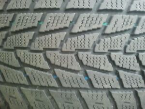 """Set of 4-225/65/17"""" winter tires on rims"""