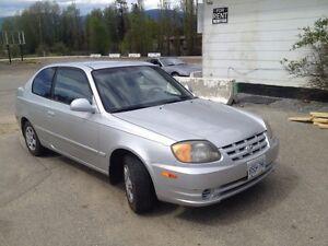 2004 Hyundai Accent Hatchback. $3600 obo