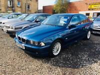 BMW 530 3.0i automatic 02 reg 1 year mot low mileage excellent condition
