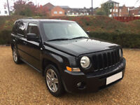 LHD Jeep Patriot 2.0CRD Limited, 6-speed manual, 4X4, Left Hand Drive