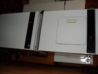 KENMORE APT SIZE STACKABLE WASHER/DRYER SET WITH RACK