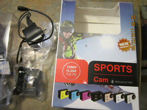 Waterproof Sports Action Camera Video Camcorder HD 1080P