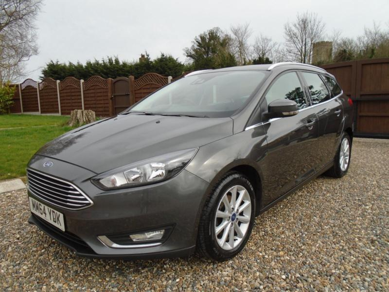 New Shape Top Spec 2015 Ford Focus 1 5 120 Bhp Diesel Estate Titanium Navigation In Beccles Suffolk Gumtree
