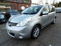 Nissan Note 1.4 16V ACENTA (1 OWNER + LOW RATE FINANCE AVAILABLE) (silver) 2009