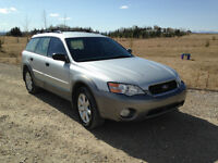 2006 Subaru Outback Grey Hatchback