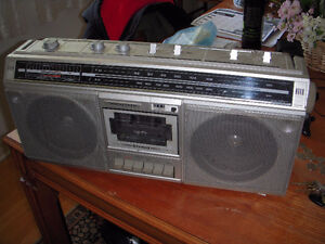 Realistic Stereo Boombox