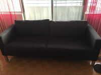 Black Couch (3 Persons)