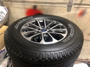2018 F150 Rims and Michelin's BRAND NEW TAKEOFFS