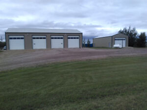 40×80 shop and 30×60 storage shed in Edam Sask.