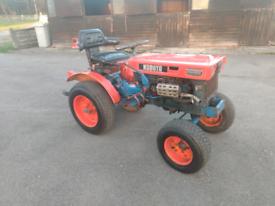 Kubota B6000E diesel compact tractor