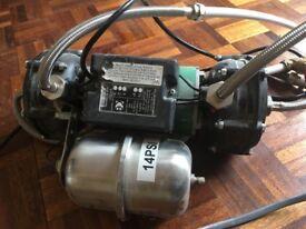Salamander shower pump fully working ESP75CPV