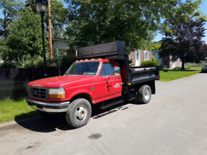 Ford f250 f350 dompeur dump 6 roues
