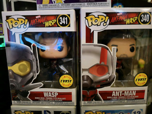 Funko Pops Including Chase Figures