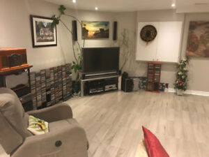 2 Bedroom basement apartment separate entrance