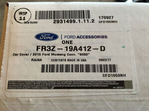 Ford Mustang OEM Car Cover - Brand New & Sealed in Box - 2015-18