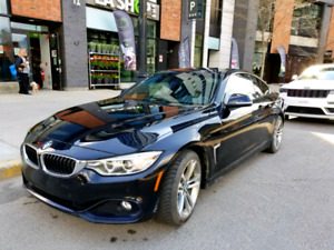 BMW 428 XI sport trim 2014 excellent condition. Low KM
