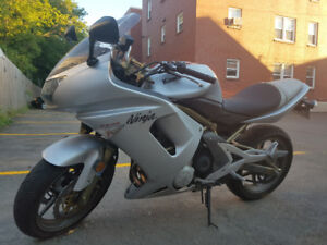 2006 Ninja 650R: Looking to trade for Dual sport.