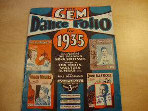 1935 Gem Dance Folio