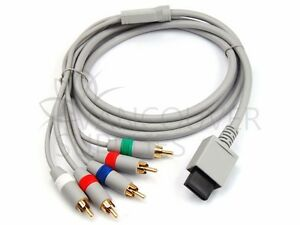 Nintendo Wii Audio Video HD Component Cable with Gold Plated