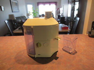 Braun MP80 Juicer - a Classic from the past