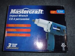 MASTERCRAFT  ½ INCH DRIVE ELECTRIC IMPACT WRENCH