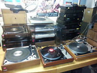 21 Turntables Thorens more -Open Saturday Sept 5th  @ 9am