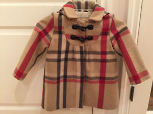 Burberry girl size 3T jacket. Great condition for this timeless