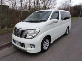 2004 Nissan Elgrand X LEATHER EDITION FRESH IMPORT 3.5 5dr