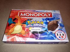 Pokemon monopoly kanto Edition.
