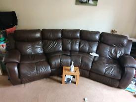 4 seat reclining sofa