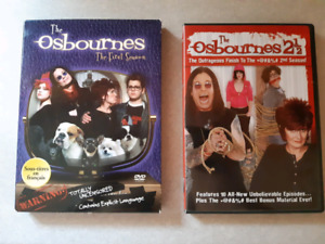 The Osbournes Seasons 1 & 2.5 on DVD