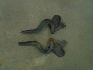 1967 or 1968 Mustang Trunk Hinges - Coupe or Convertible