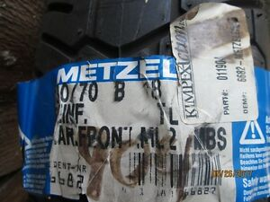 New Motorcycle Front Tire Metzeler 130/70B18 For Sale