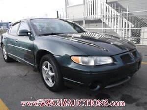 1999 PONTIAC GRAND PRIX GT 4D SEDAN GT