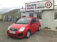 2009 CITROEN C2 VTR HDI 1.4L ONLY 68,383 MILES - FULL SERVICE HISTROY - £30 TAX