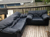 Great leather couch deal!