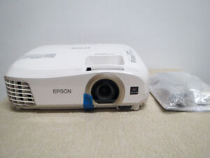 New open box Epson Home Cinema 3D 1080p 3LCD Projector HDMI MHL