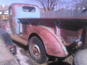 WANTED -- Parts for 1941 to 1956 Chevy truck