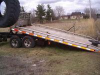 Remorque - Plateforme dumper - Trailer - Towing