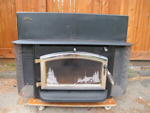 Elmira Stove Works Fireplace insert / foyer combustion lente
