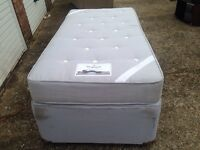 """Single bed and mattress """"FREE LOCAL DELIVERY """"£50"""