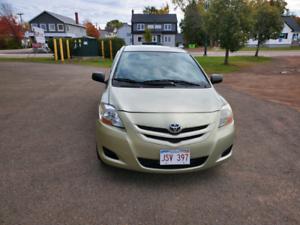 2007 Toyota Yaris manual transmission