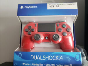 Playstation 4,ps4, controller,manette,brand new! Red magma